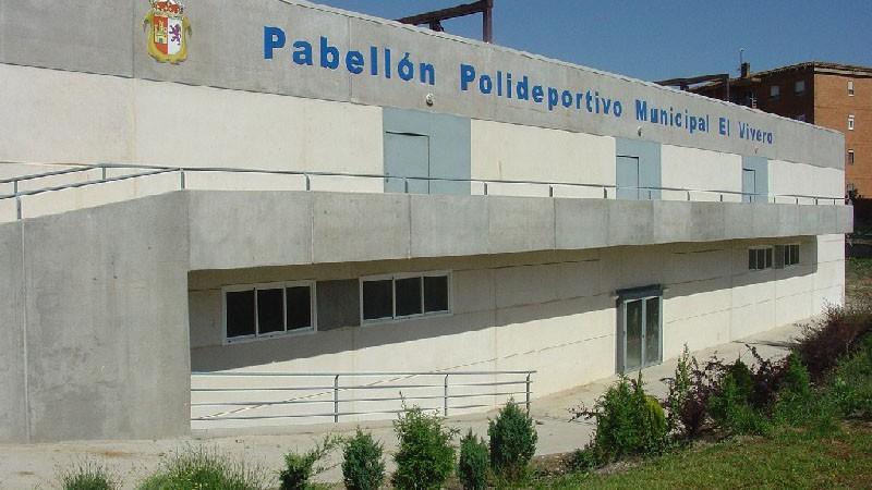 """Logo de Pabellón polideportivo municipal """"El Vivero"""" de Cáceres"""