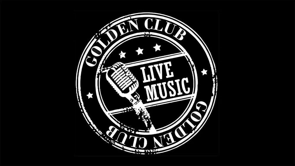 Logo de Golden Club. Discoteca y sala de conciertos.