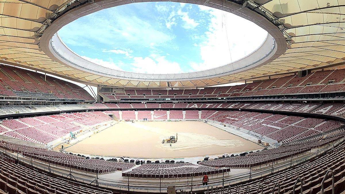 Logo de Estadio Wanda Metropolitano
