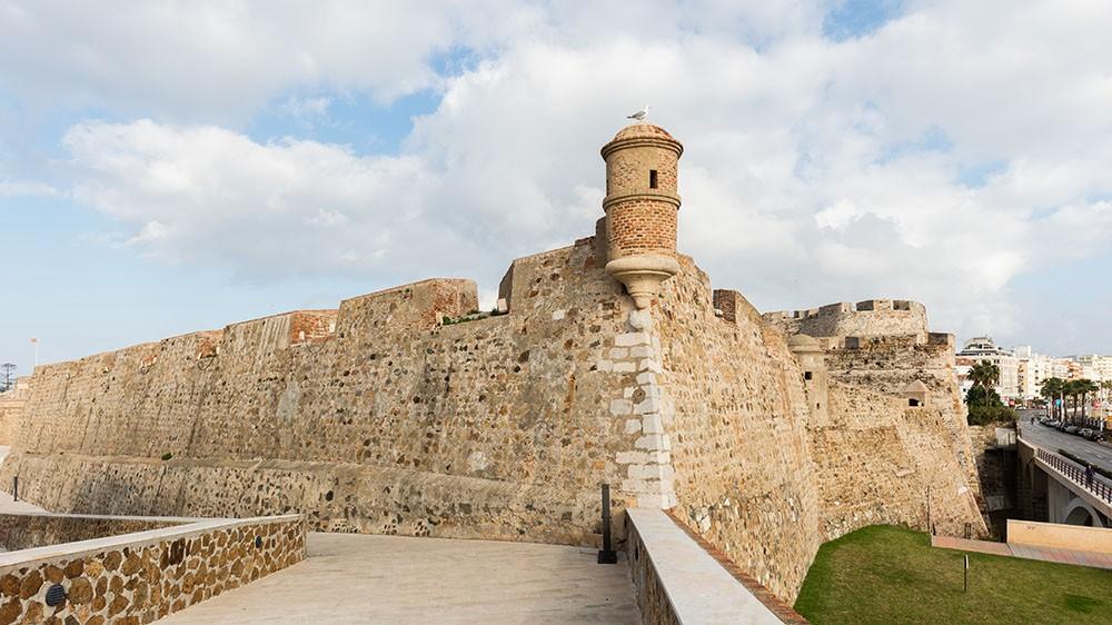 Logo de Murallas Reales de Ceuta
