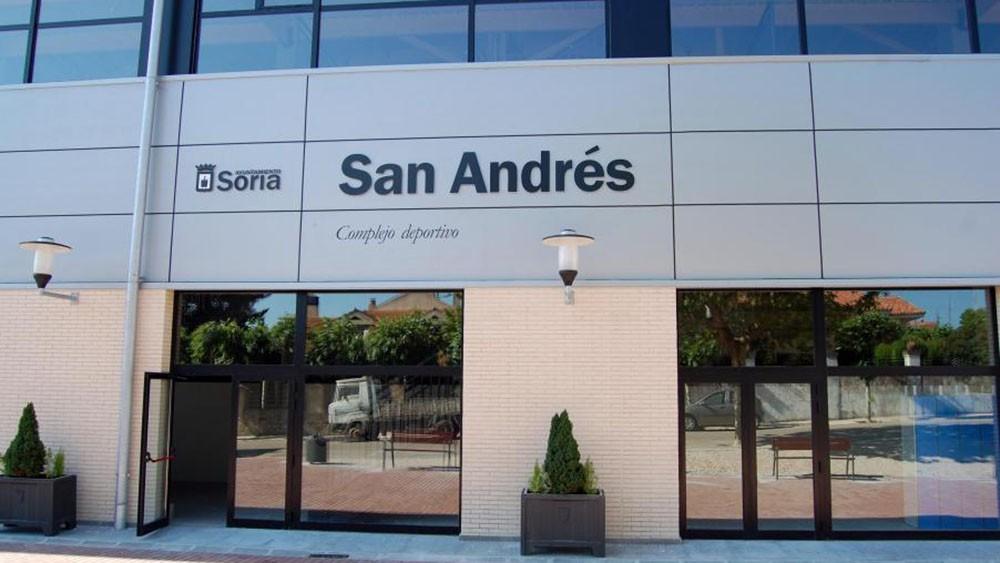 Logo de Polideportivo San Andrés de Soria