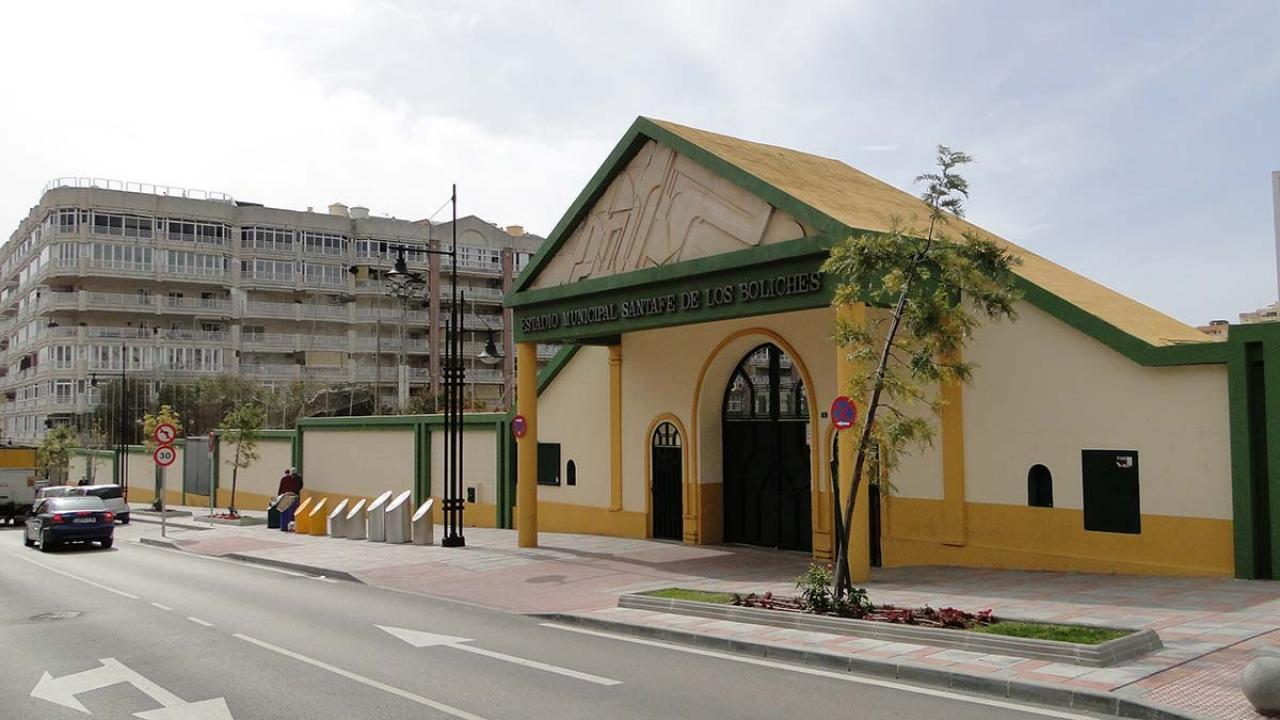 Logo de Estadio Municipal Santa Fe de Los Boliches