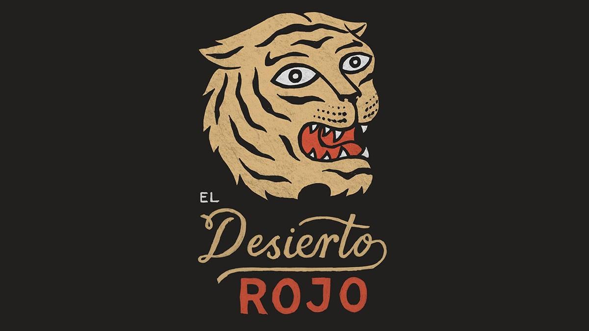 Logo de El Desierto Rojo