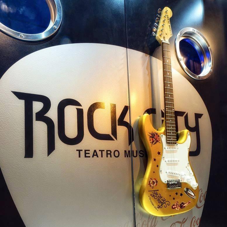 Logo de Sala Rock City