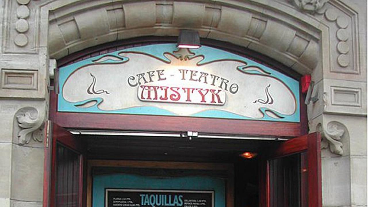 Logo de Café Teatro Mistyk de Bilbao
