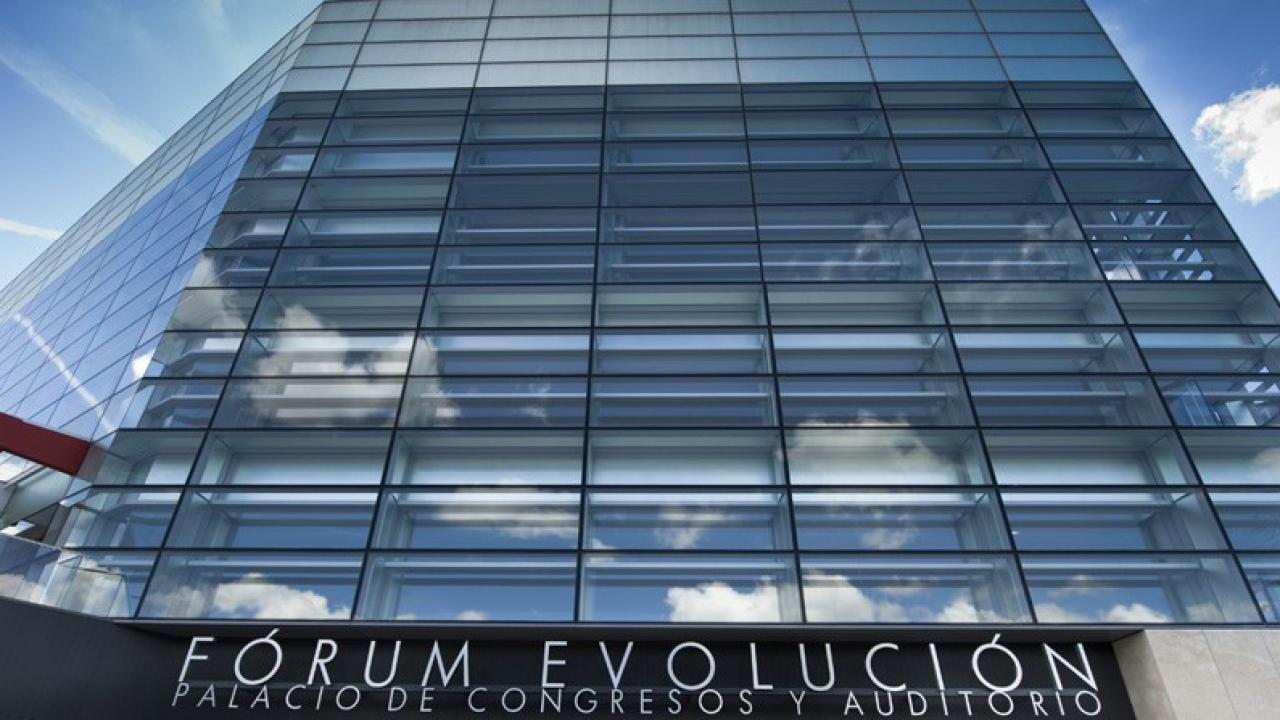 Logo de Forúm Evolución (Palacio de Congresos de Burgos)
