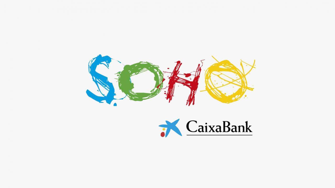 Logo de Teatro del Soho CaixaBank