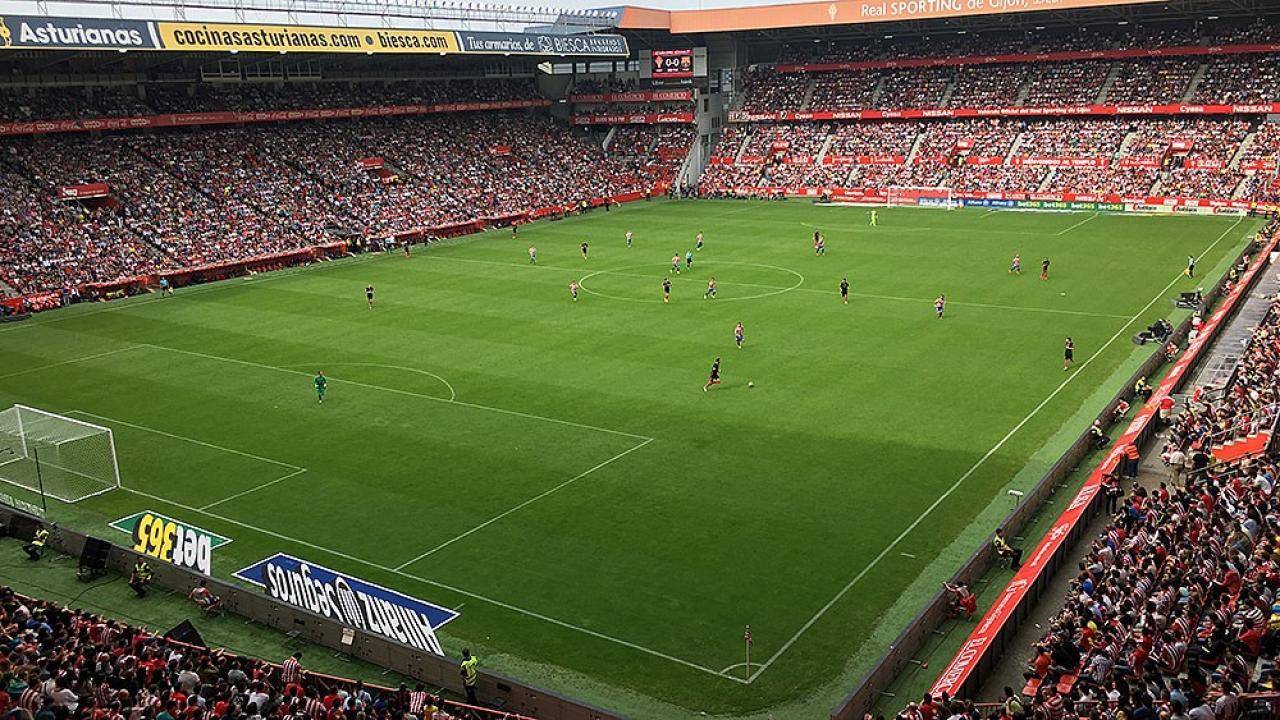 Logo de Estadio El Molinón de Gijón