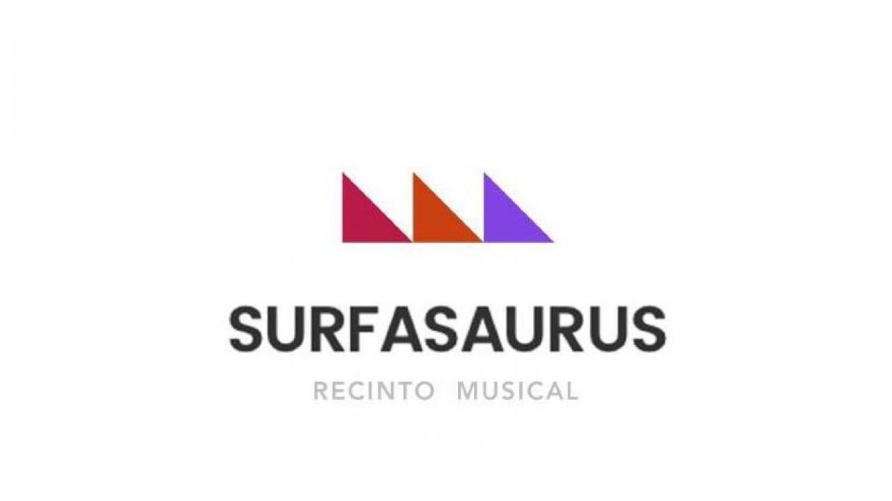 Logo de Recinto Musical Surfasaurus de Matalascañas