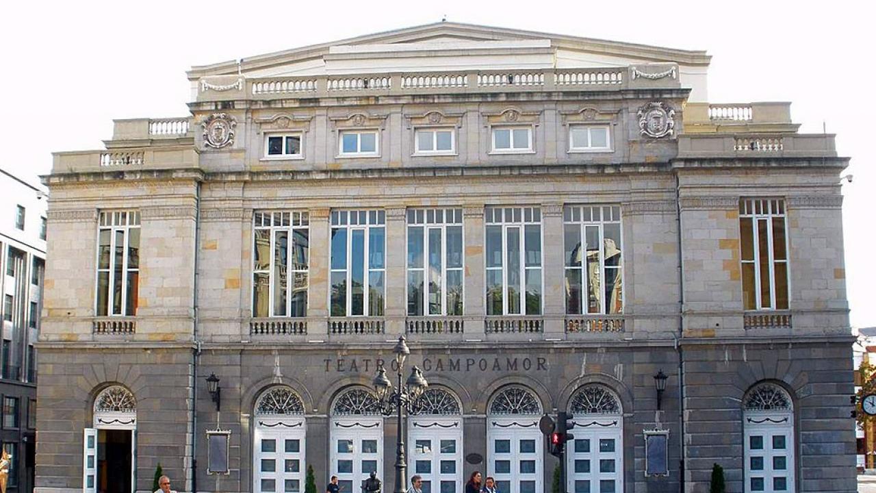 Logo de Teatro Campoamor de Oviedo