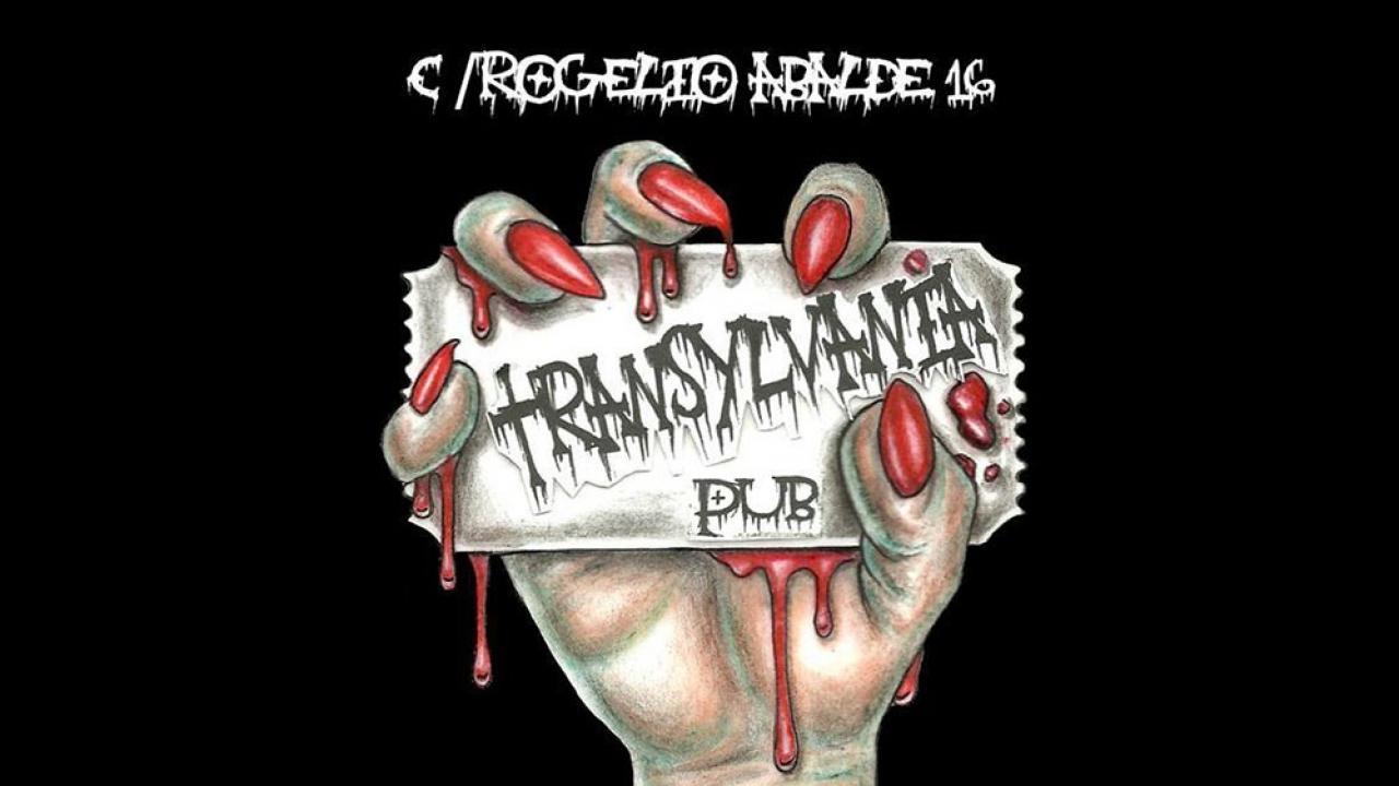 Logo de Transylvania Metal Pub de Vigo