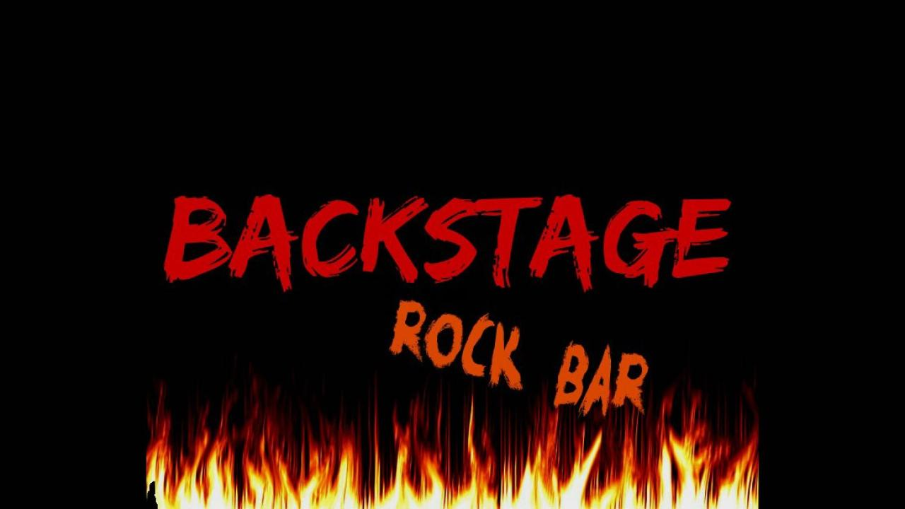 Logo de Backstage Rock Bar de Valladolid