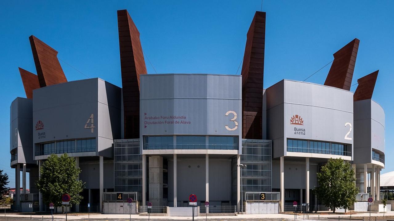 Logo de Fernando Buesa Arena de Vitoria