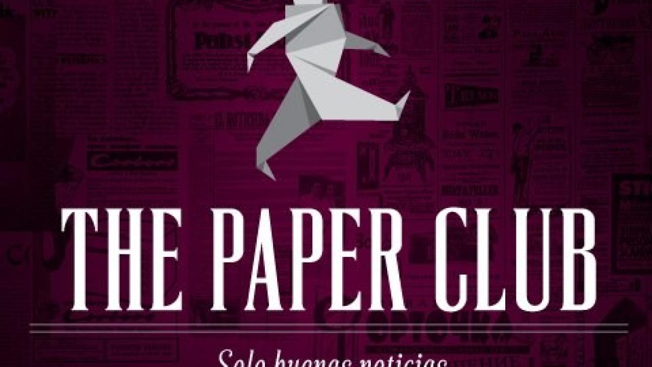 Logo de The Paper Club