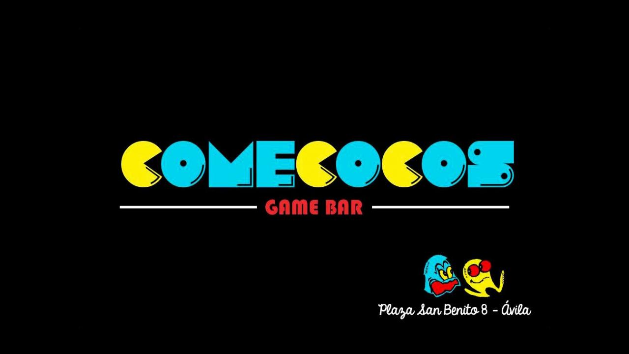 Logo de RetroBar Comecocos