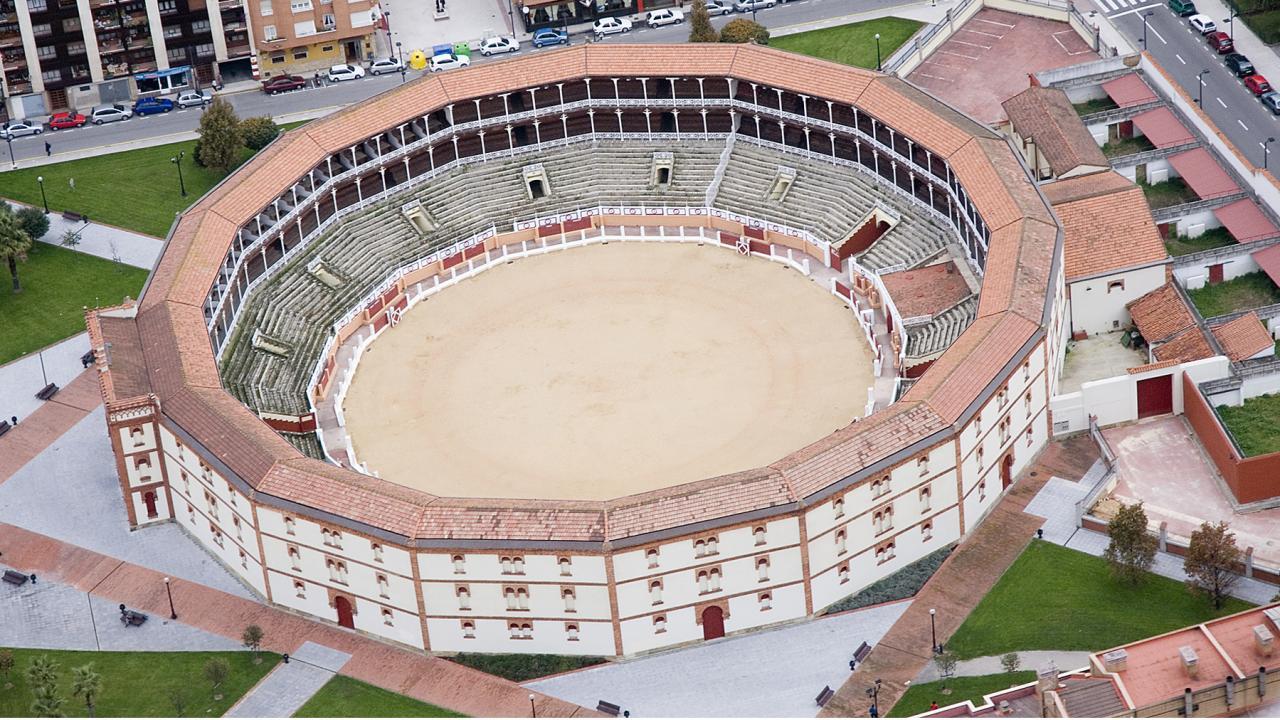 Logo de Plaza de Toros de El Bibio
