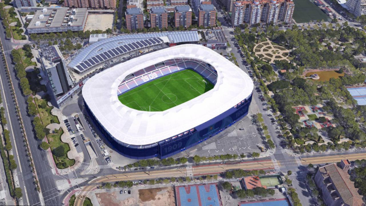 Logo de Estadio Ciudad de Valencia