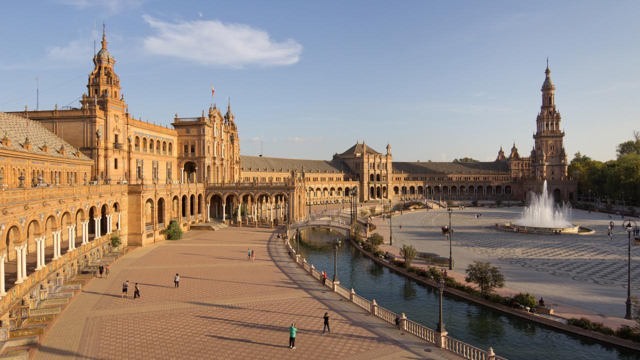 Logo de Plaza de España de Sevilla