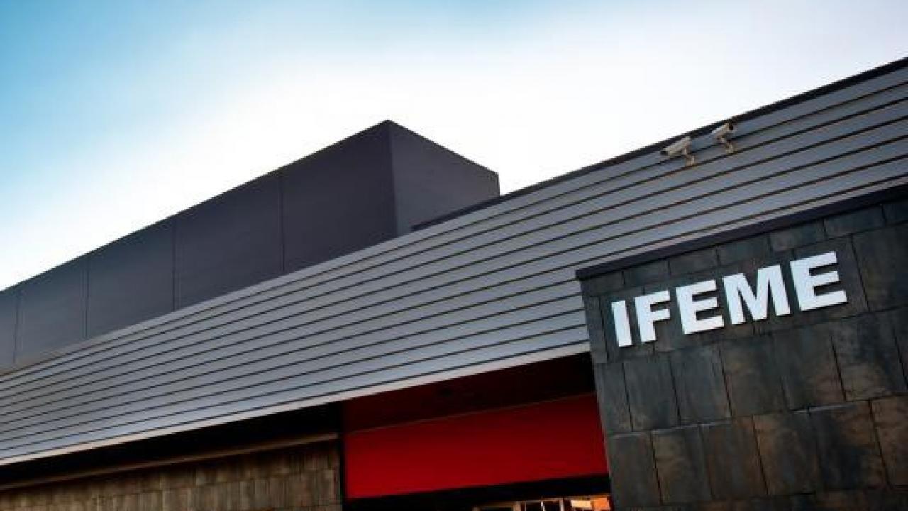 Logo de IFEME (Institucion Ferial de Mérida)
