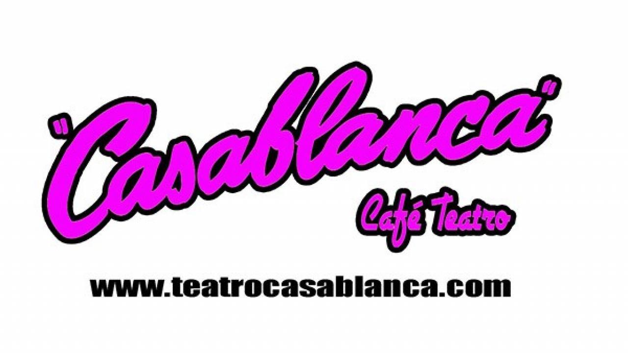 Logo de Café Teatro Casablanca