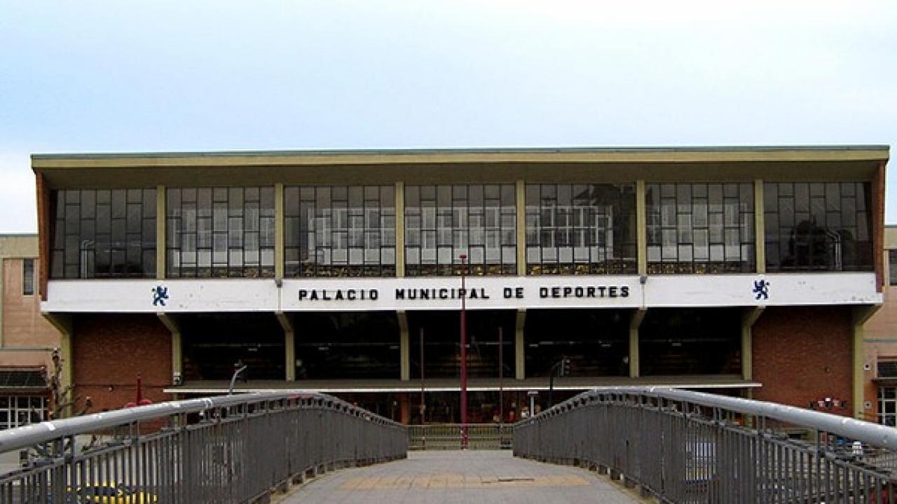 Logo de Palacio de los deportes de León