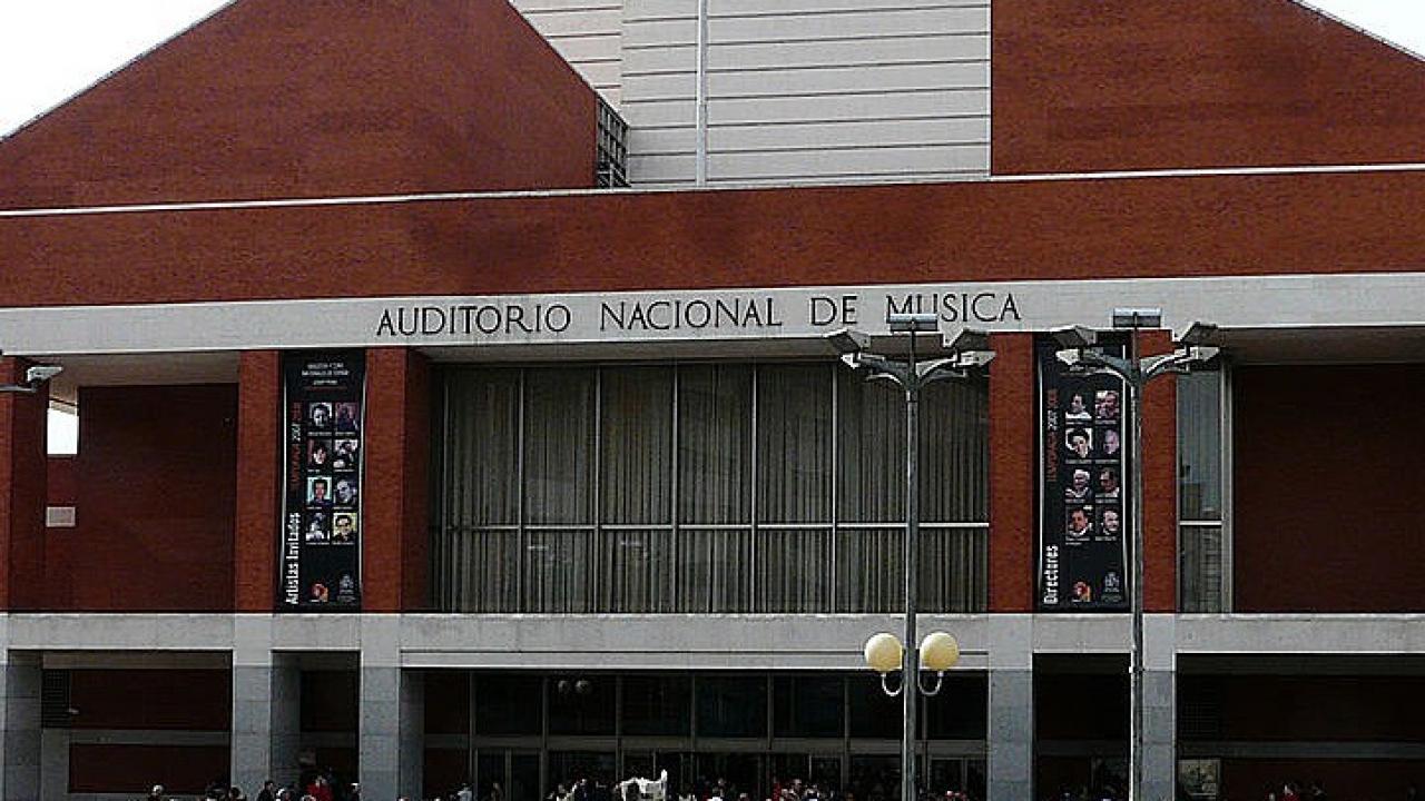 Logo de Auditorio Nacional de Música de Madrid