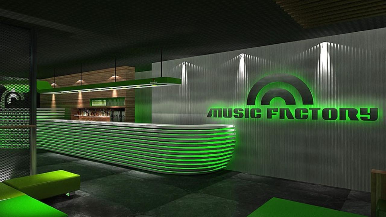 Logo de Discoteca y Sala Music Factory