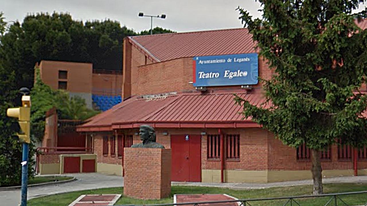 Logo de Teatro Egaleo de Leganés