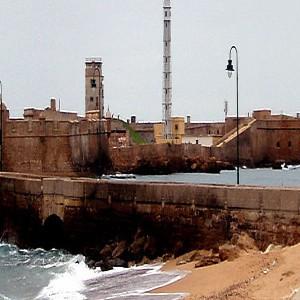 Castillo de San Sebastian de Cádiz