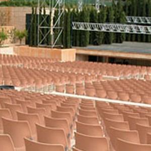 Teatro del Generalife en Jardines de la Alhambra
