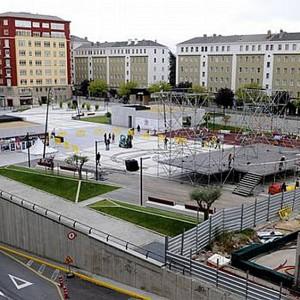 Plaza España de Ferrol