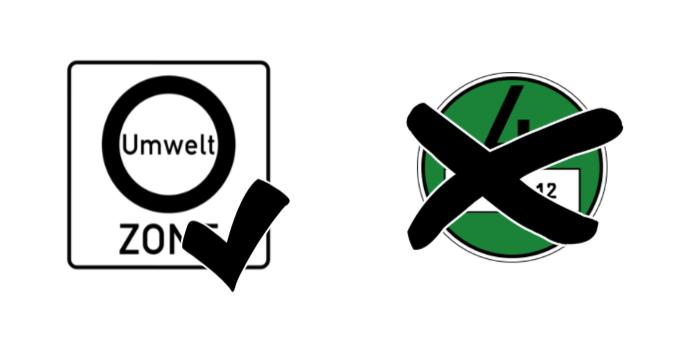 Durch ein Oldtimerkennzeichen ist es einfach, in Umweltzonen zu fahren und man braucht keine grüne Plakette