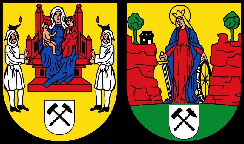 Wappen der Stadt Annaberg-Buchholz