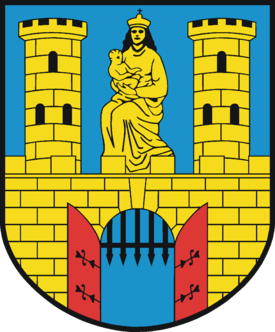 Wappen der Stadt Burg (bei Magdeburg)