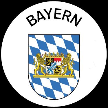 Wappen des Bundeslandes Bayern
