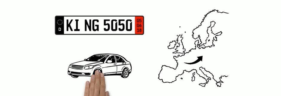 Überführungskennzeichen: Beantragung der Zollkennzeichen & wichtige Unterlagen