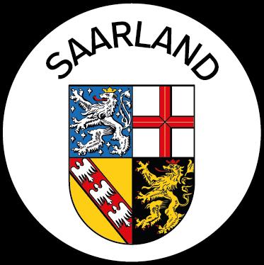 Wappen des Bundeslandes Saarland