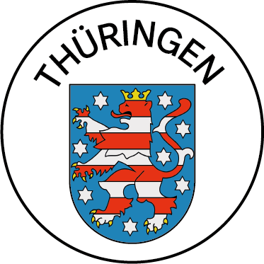 Wappen des Bundeslandes Thüringen