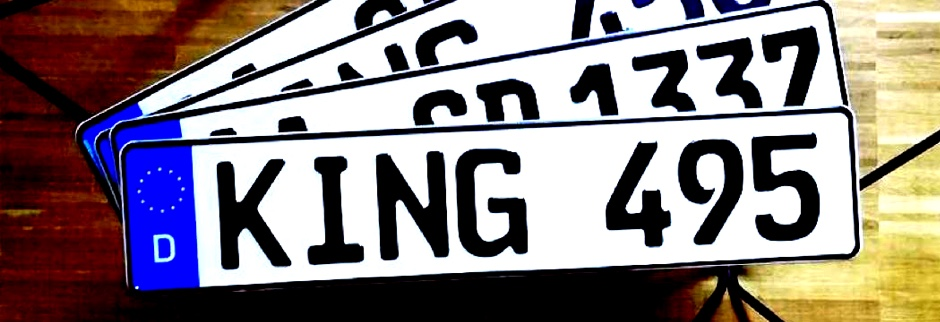 Vom Blech zum Nummernschild: Wie ein Kennzeichen hergestellt wird
