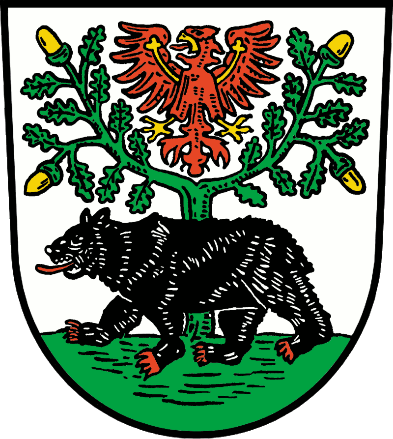 Wappen der Stadt Bernau bei Berlin