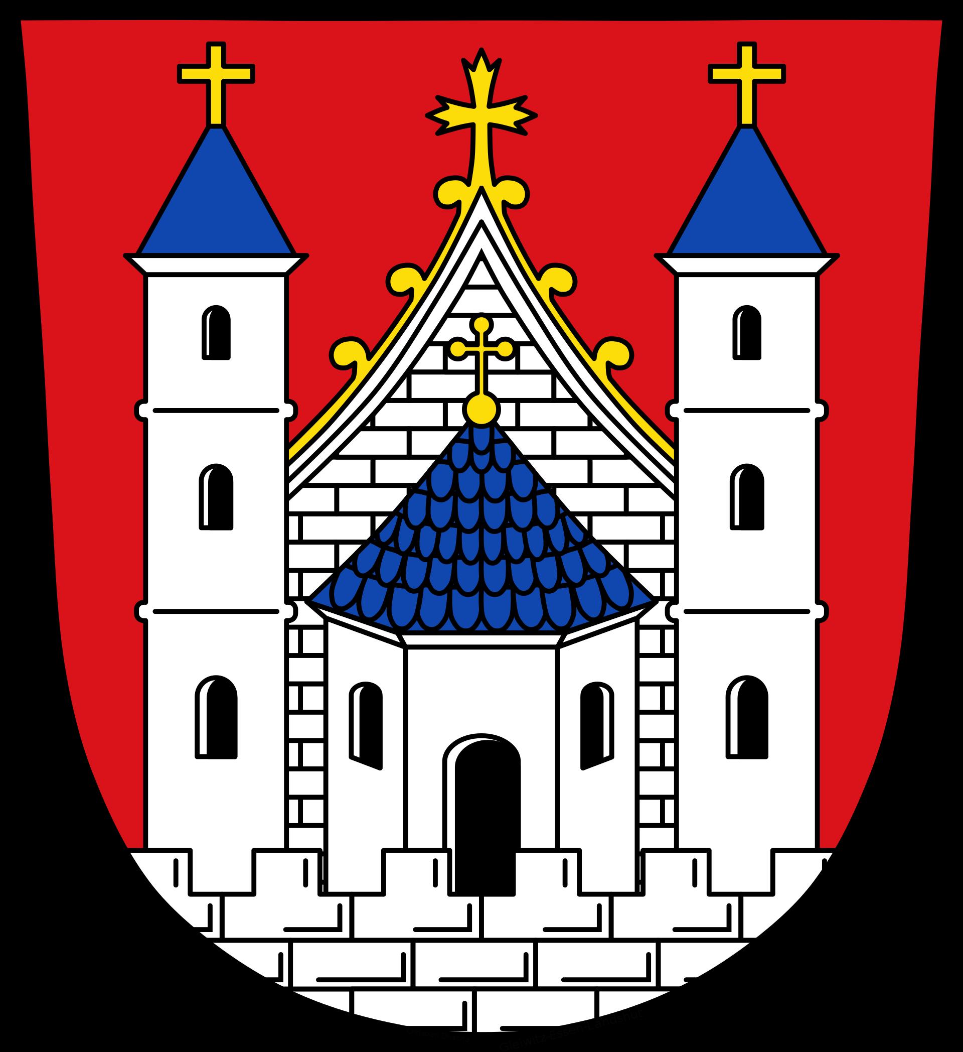 Wappen der Stadt Mellrichstadt