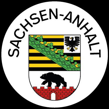 Wappen des Bundeslandes Sachsen-Anhalt
