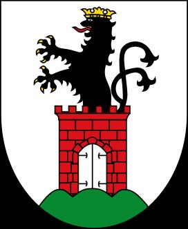 Wappen der Stadt Bergen auf Rügen