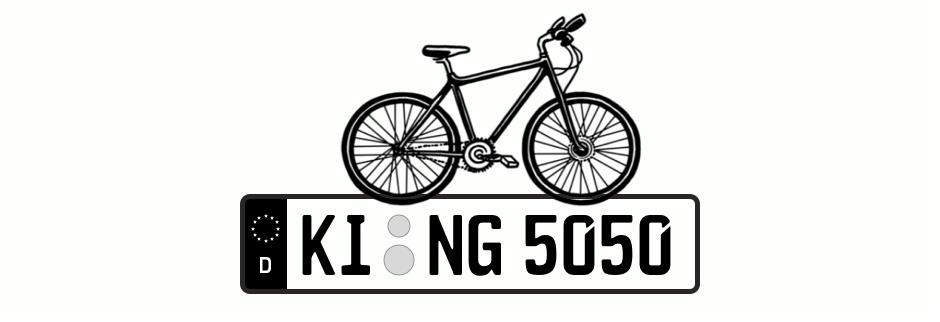 Fahrradträger Kennzeichen: Das musst du über die Kfz-Kennzeichen für Fahrradträger wissen
