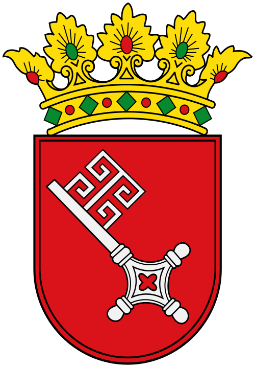 Wappen des Bundeslandes Bremen