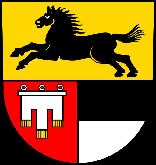 Wappen der Stadt Langenau