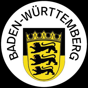 Wappen des Bundeslandes Baden-Württemberg