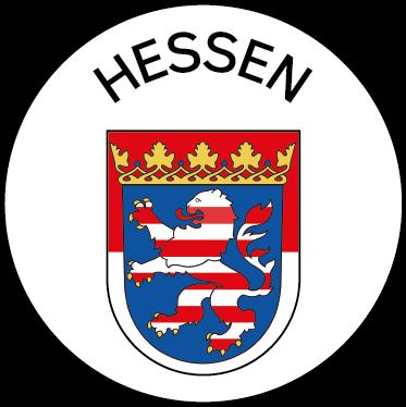 Wappen des Bundeslandes Hessen