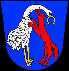 Wappen der Stadt Vohenstrauß