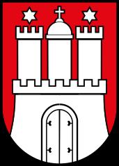 Wappen der Stadt Hamburg